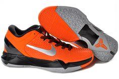 reputable site ea12a 612bb Kobe 7 For Sale,Lebron James,Kobe Bryant Shoes Elite Orange Metallic Silver  Black 511371 800