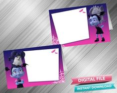 Vampirina Food Tent - PrintDParty Selling Birthday Invitation and Printable Party Decoration Digital File. Printable Labels, Party Printables, Party Food Labels, Birthday Party Decorations Diy, Food Tent, Printable Birthday Invitations, Printed Materials, Blank Cards, This Or That Questions
