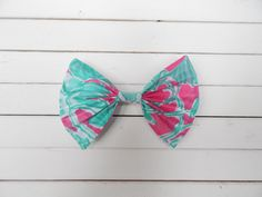 Lilly Pulitzer Scorpion Bowl Fabric Hair Bow for Girls/Teens/Adults with French Barrette or Alligator Clip Girl Hair Bows, Girls Bows, Fabric Hair Bows, Cute Bows, Scorpion, Barrette, Lilly Pulitzer, French, Etsy