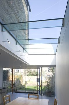 RIBA accredited architectural practice working in Central, West and South London with 30 years experience in the residential, commercial and development sectors Glass Extension, Rear Extension, Extension Ideas, Glass Walkway, Glass Roof, Glass Structure, Roof Structure, Regency House, House Extensions