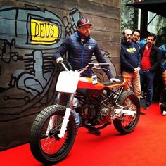 Ducati flat track by Deus Milano #motorcycles #flattracker #motos | caferacerpasion.com