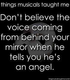 /The Phantom of the Opera/ Love Never Dies Broadway Theatre, Musical Theatre, Broadway Shows, Broadway Quotes, Theatre Quotes, Movie Quotes, Bad Gyal, It's Over Now, Music Of The Night
