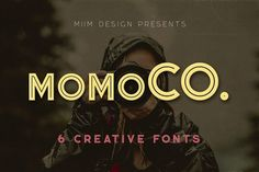 Momoco - Display Font by MIIM on @creativemarket