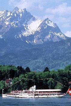 Lake Lucerne/Mt. Pilatus, Switzerland - took the lift to summit of Mt. Pilatus