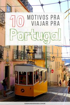 If you are thinking about learning Portuguese then you probably have a reason behind it. Maybe you plan to travel to either Portugal or Brazil, perhaps you have friends or family members you are keen to converse with in their mother t Visit Portugal, Portugal Travel, Learn Portuguese, Luxury Escapes, Best Travel Guides, Europe, Beautiful Places To Visit, Travel List, Where To Go