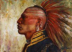 Pride of the Pawnee | Pawnee Warrior | James Ayers 2015