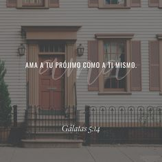 """Porque toda la #ley en esta sola palabra se cumple: #Amarás a tu #prójimo como a ti mismo."" #Gálatas 5:14 RVR1960 http://bible.com/149/gal.5.14.rvr1960"