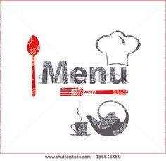 Fine menu for cafe, restaurant.