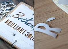 Sugar and Charm: diy personalized gift bags