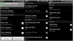 Steps to Setup Email on Android Devices