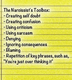 Narcissist Exposer on Twitter: