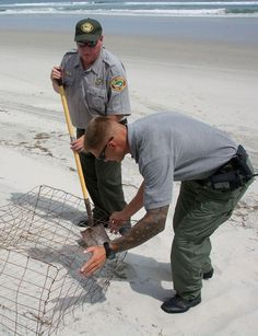Hammocks Beach State Park Superintendent Paul Donnelly has a Pelican with his name on it to carry into retirement.