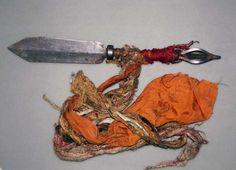 Ritual dagger (phurbu) from Tibet