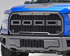 99-04 Ford Super Duty F-250/F-350 Evolution Stainless Steel Wire Mesh Packaged Grille Black w/ LED