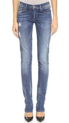 wonder if these would be the new Johnny? True Religion Cora Straight Leg Jeans