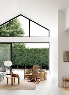 In Melbourne, Pipkorn&Kilpatrick turn an existing, poorly lit Art Deco home into a generous space where a young family can spend quality time. Architecture Details, Interior Architecture, Art Deco Home, Relaxing Day, House Extensions, Slow Living, Steel Doors, Home Reno, Inspired Homes