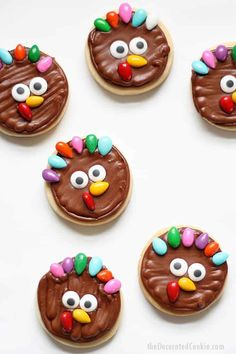 The Highest Three Chicory Espresso Manufacturers - Include A Novel Taste On Your Cup Of Joe Cute And Easy Turkey Cookies For Thanksgiving, A Fun Food Idea. These Decorated Cookies Are Perfect For A Thanksgiving Treat Or Party Favor. Turkey Cupcakes, Turkey Cookies, Beignets, Thanksgiving Cookies, Thanksgiving Turkey, Happy Thanksgiving, Thanksgiving Recipes, Thanksgiving Pictures, Holiday Cookies