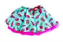 Φορέματα - Ρούχα Για Κορίτσια Για Πάρτι - Εκδύλωση :: Jelly Bean Kids Collection 2014 :: Jelly Bean Kids Εντιπωσιακή Καλοκαιρινή Φούστα με Εμπριμέ Παγωτών - MEMOIRS Νυφικά και Γυναικεία Φορέματα