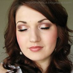 Great for my wedding, maybe a little more natural. That way I can wear darker lipstick. More drastic eyelashes, very big