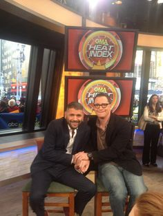 Scandal's Guillermo Diaz and Josh Malina on GMA 5.14.13