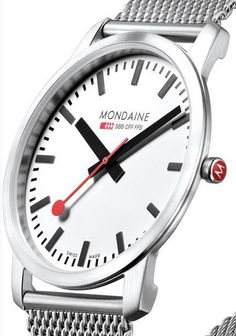 Mondaine Ultra Thin Men's Mesh watch is now available on Watches.com. Free Worldwide Shipping & Easy Returns. Learn more.