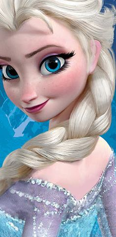 The Disnerd, ▣ Frozen (2013) fully rendered characters - Anna and Elsa...love her eyes