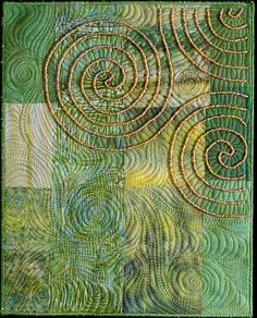Celtic Spiral VII by Larkin Jean Van Horn From the Labyrinth Gallery Size in inches: 9 x 11½