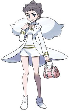 Diantha from Pokémon X and Y