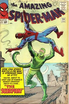 COMIC amazing spiderman 20 #comic #cover #art