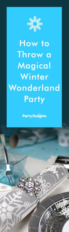 Throw a magical winter wonderland party with our beautiful Christmas party ideas. From snowflake decorations to wintery party snacks, this party theme is perfect for office Christmas parties or even Christmas day with the family. The perfect winter wonderland themed party starts here!