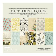Authentique HARMONY 12 x 12 Paper Pad HAR019