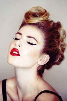 Jade Hudson by Natalia Horinkova, hair Tobi Henney, makeup Vanessa Henwood