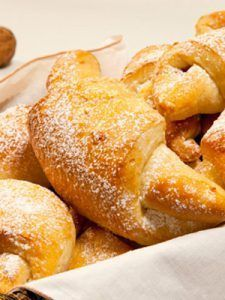 Croissants with Marzipan and Almonds - The most incredible almond-marzipan croissant recipe, just like you would find at a French bakery.