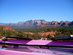 Pink Jeep tour , Sedona AZ