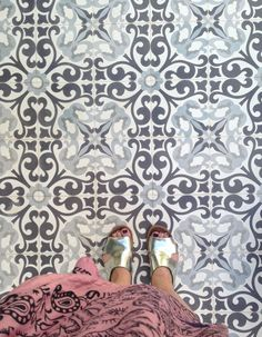 Tiles at Ocean Beach Club Makrigialos