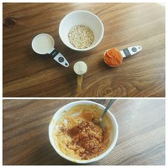 """Just some pumpkin oatmeal || #basic #proteinoats #pumpkinoatmeal #everythingpumpkin #fitness #fitfood #healthyeating #healthyliving #healthyfood #proteinrecipes"" Photo taken by @sydniecarter on Instagram, pinned via the InstaPin iOS App! http://www.instapinapp.com (10/06/2015)"
