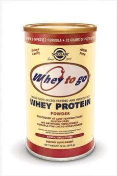 Solgar Whey to Go Whey Protein Powder -Vanilla