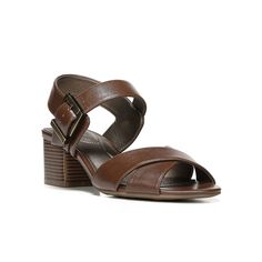 LifeStride Rache Women's Dress Sandals, Size: medium (6.5), Dark Brown