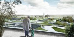 Gallery - Three Teams Shortlisted to Design Denmark's Largest Hospital - 1