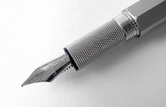 Beautiful fountain pen, ballpoint or rollerball pens. You better not leave them behind in the conference room!