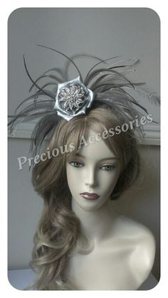 Fascinator I did for a clients blessing to celebrate their platinum wedding anniversary...