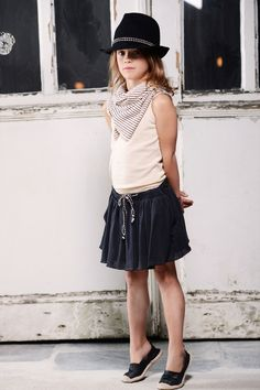 Charly Skirt Uni - Miss Ruby Tuesday - Online Kids & Teens Webshop - Goldfish.be