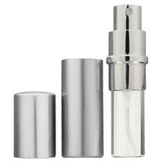 4Pcs Silver Refillable Perfume Bottle Empty Parfum Bottle Traveler Aluminum Spray Atomizer - Gchoic.com