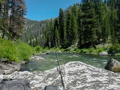 Middle fork of the Salmon River near Ketchum, Idaho.