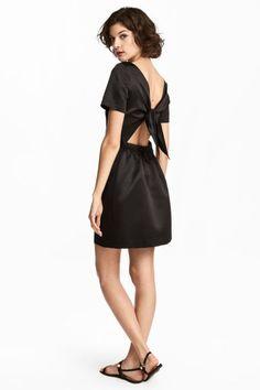 Satiinimekko - Musta - Ladies   H&M FI 1