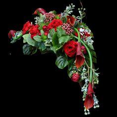 Coffin, Funeral, Floral Arrangements, Floral Wreath, Bouquet, Wreaths, Deco, Green, Flowers