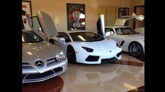 Floyd Mayweather mostra sua coleção de carros  Ficamos pensando quanto ele usa estes carros