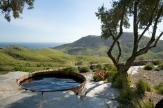 bain scandinave de design super dans la nature