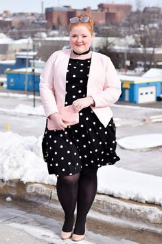 Plus Size Fashion.  This girl is so pretty.  Every time I see her face she makes me smile.  Lovely.