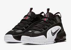 finest selection 3a9fa becc6 Nike Air Max Penny 1 Black White Red 685153-003   SneakerNews.com